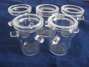 Clear Quartz Crucibles for Melting Fused Quartz Crucibles pictures & photos