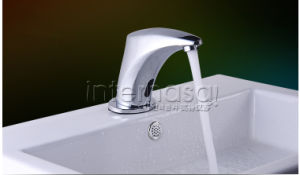 Deck-Mounted New Style No Handle Kitchen Bathroom Toilet Automatic Tap Sensor Brass Basin Faucet pictures & photos