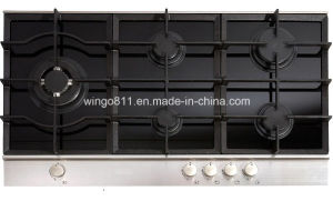 Tempered Glass 5 Burners Gas Stove
