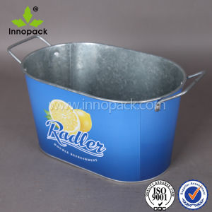 Custom Metal Stainless Steel Ice Bucket with Handle pictures & photos