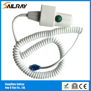 6cores 5m Two Step X-ray Hand Switch with Collimator Light Button and RJ45 Connector pictures & photos