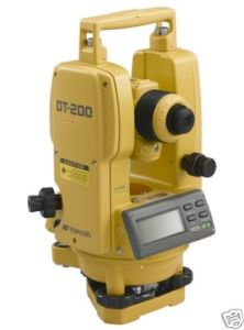 """Topcon Dt-205L 5"""" Theodolite for Surveying Theodolite pictures & photos"""