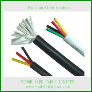 Control Cable, Electric Wire Cable for Electrical Control System pictures & photos