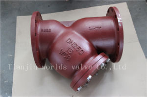 Wcb Y Type Strainer with Ss304 Screen
