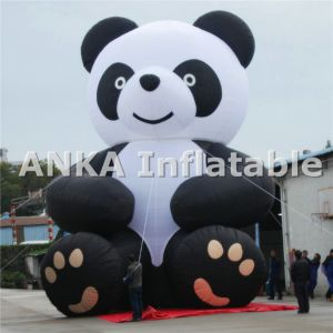 Attactive Inflatable Kongfu Running Panda Bear Character pictures & photos