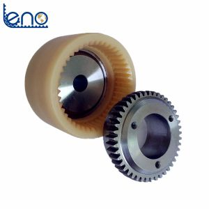 Stainless Steel Material Qd Bore Gear Couplings