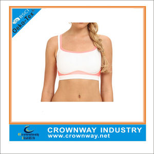 Custom Best Girls White Sports Bras for Sale pictures & photos