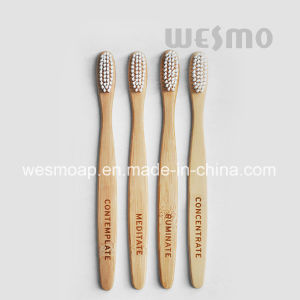 2-PC Set Eco-Friendly Bamboo Toothbrush (WBB0862B-N) pictures & photos