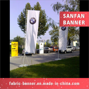 High Quality Advertising 3m Water Injection Base Beach Flag