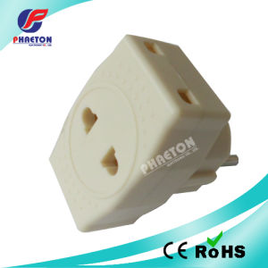 EU Power Adapter AC DC Travel Plug (pH6-2013) pictures & photos
