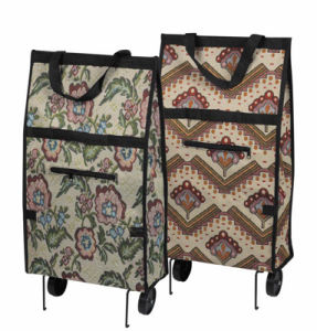 Reusable Wheeled Shopping Bag (SP-501) pictures & photos