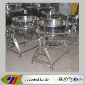 50L 100L Tilting Heating Jacketed Kettle with Cover (Electric Heating) pictures & photos