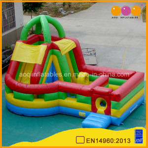Inflatable Rainbow Obstacle Course (aq1451-2) pictures & photos