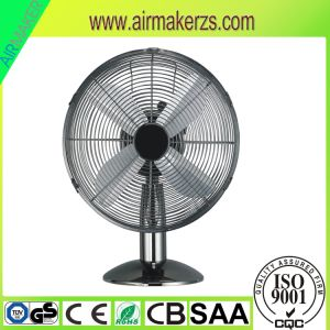 "12""Hot Sale Desk Metal Fan with Good Quality GS/CB/Ce pictures & photos"