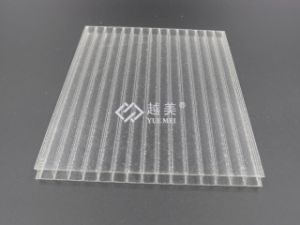 Grade a 50-Micron UV Coating PC Sheet Polycarbonate Roofing Panels pictures & photos