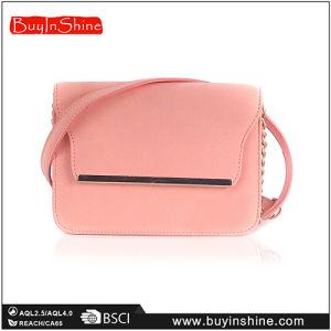 Peach PU Summer Lady Shoulder Bag