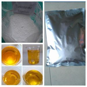 Pain Free Muscle Enhance Steroid Powder Testosterone Enanthate Test E (315-37-7) pictures & photos