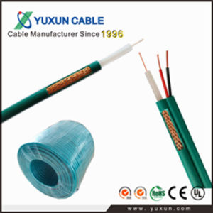 Best Selling Coaxial Cable Kx6 with Two Power Cable