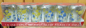 High Quanlity Good Glass Cup Set Decal Water Cup Kb-Hn08167 pictures & photos