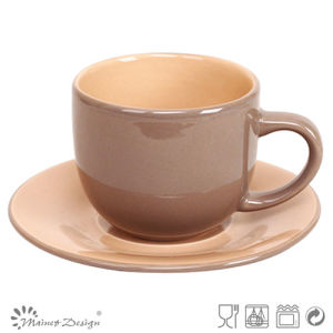 Ceramic Cheap Personalized Tea Cup Saucer Set pictures & photos