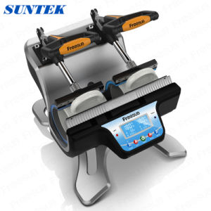 Double Station Sublimation Machine for Mug Heat Transfer Printing St-210 pictures & photos