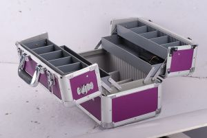 Aluminium Tool Case with 4 Cantilever Tool Trays pictures & photos