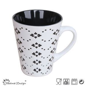 Silk Screen Ceramic Underglaze Ceramic Mug pictures & photos