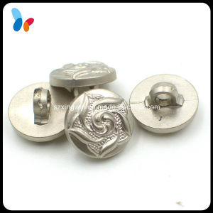 Decorating Plating Silver Small Plastic Shank Button pictures & photos