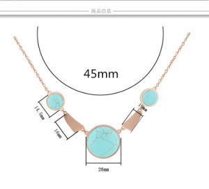 Fashion Accessories Stainless Steel Jewelry Necklace (hdx1055) pictures & photos