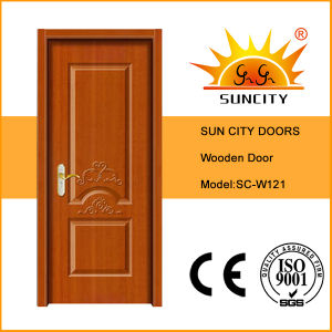 Made in China Interior Solid Wood Main Door (SC-W121) pictures & photos
