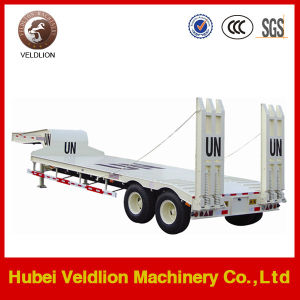 2 Axles 30ton Low Bed Semi Trailer with Good Price pictures & photos