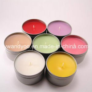 Soy Scented Handmade Home Decorative Colorful Tin Candle pictures & photos