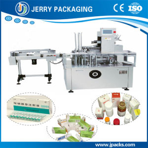 Automatic Medicine or Cosmetics Bottle Cartoning Machine pictures & photos