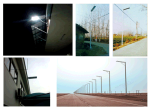 LED Outdoor Solar Street, Road Lamp
