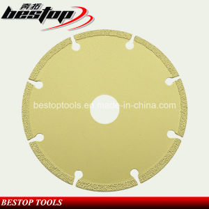 Vacuum Brazed Granite and Marble Stone Cutting Disc Saw Blade pictures & photos