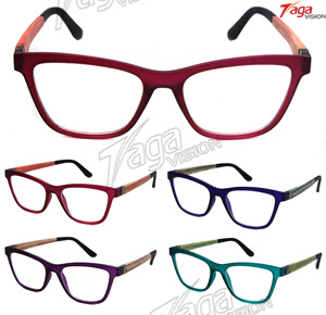 The New Coming Tr90 Optical Frame with Colorful Bamboo Temple