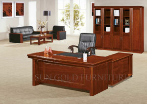 Wooden Office Desk Modern High Gloss Furniture (SZ-OD514) pictures & photos
