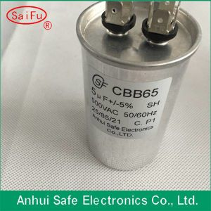 250VAC Electronic Component Capacitor Cbb65A-1 Air-Conditioning Running Capacitor for Compressor pictures & photos