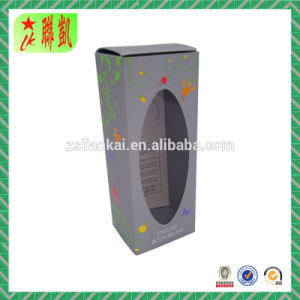 Custom Printed Paper Cosmetic Foldable Box pictures & photos