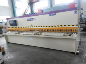 Hydraulic Guillotine Shear, Hydraulic Swing Beam Shear (QC12K 8 X 4000) pictures & photos