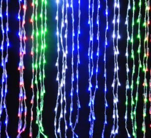 Single Color 2*2m Party LED String Curtain Lights Event Decoration pictures & photos