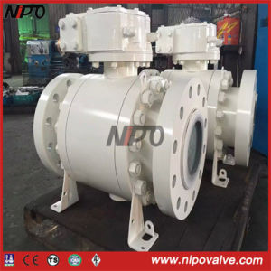 API 6D Flanged Forged Steel Fixed Ball Valve pictures & photos