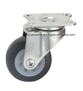 Stainless Steel Light Duty Brake Castor, TPR Wheel pictures & photos