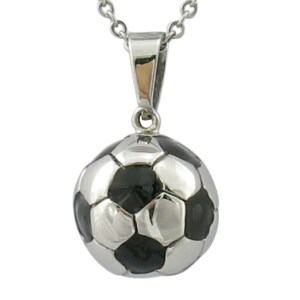Fashion Stainless Steel 316L Soccer Keychain pictures & photos