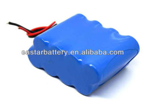 14.8V 4400mAh Li-ion Battery Pack for LCD pictures & photos