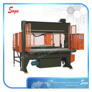 Hydraulic Shoe Sole Traveling Head Leather Cutting Press Machine pictures & photos