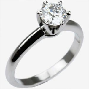 Custom 1 Carat H Colors Diamond Wedding Ring pictures & photos