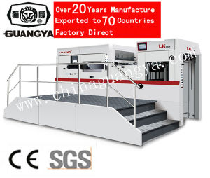 Automatic Die Cutter with CE Proved (LK106M) pictures & photos