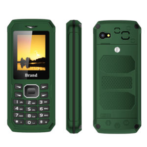 Spreadtrum 6531 Chip 1.8inch Qvga Screen Bar Phone, Three Proofings Mobile Phone pictures & photos