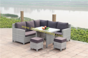 Outdoor Sofa Set with Rattan&Wicker Weave pictures & photos